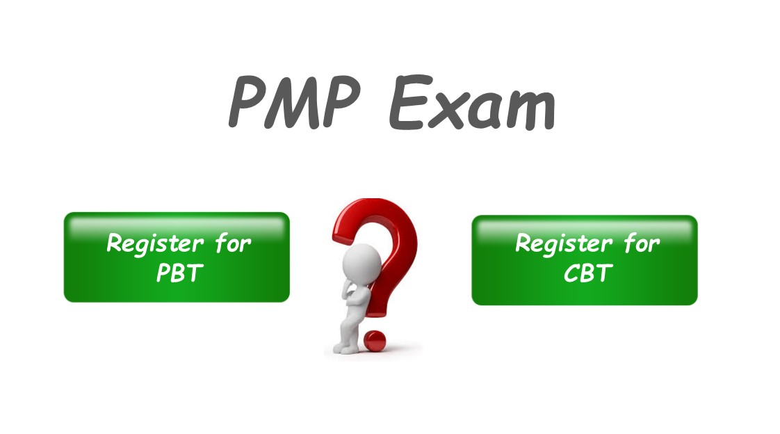 Should I Take Paper Based Test Pbt For Pmp Certification Pmwares